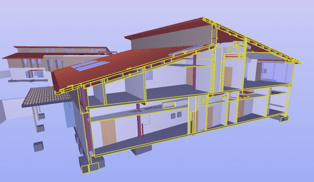 Solibri used as part of the BIM process in construction of Arthur Rank Hospice