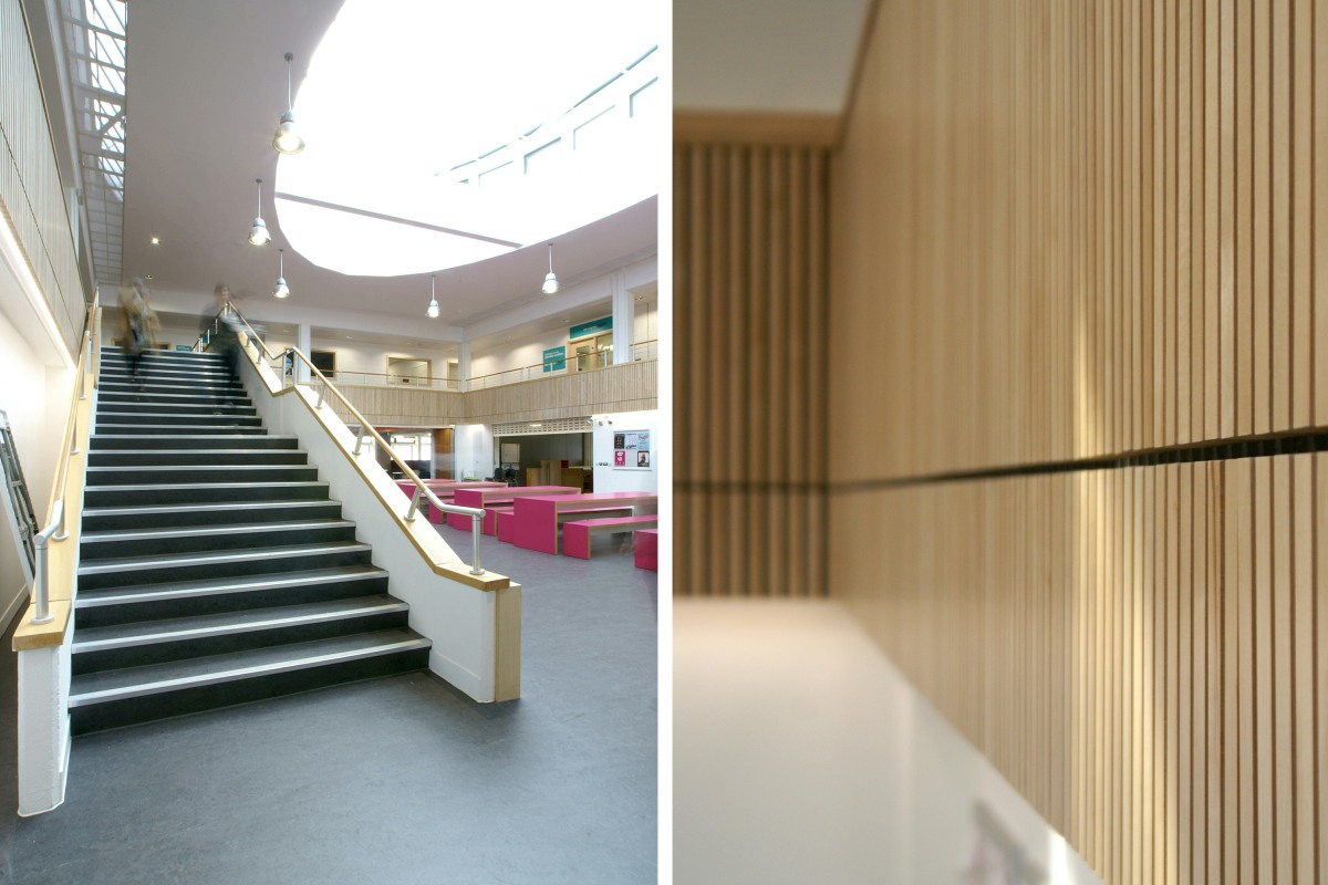 Joinery work at UEA Union House