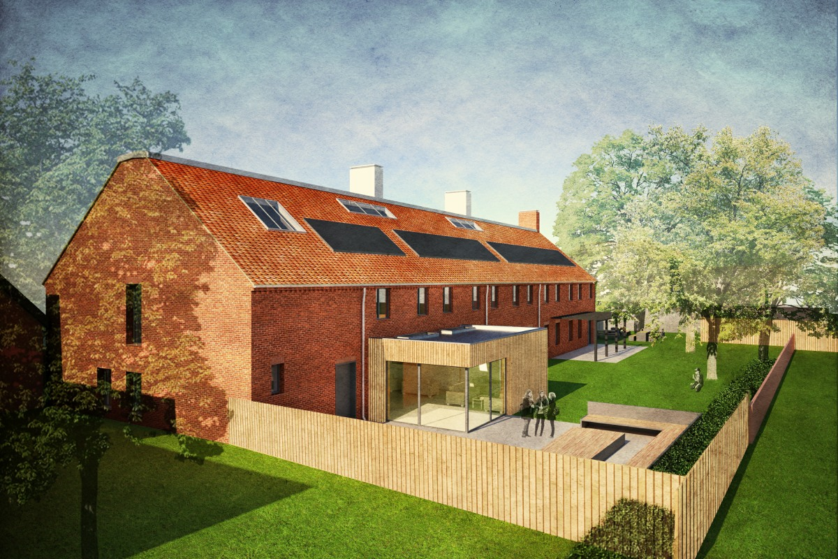 LSI_Architects_Gresham's_Oakeley_Boarding_House_Approach