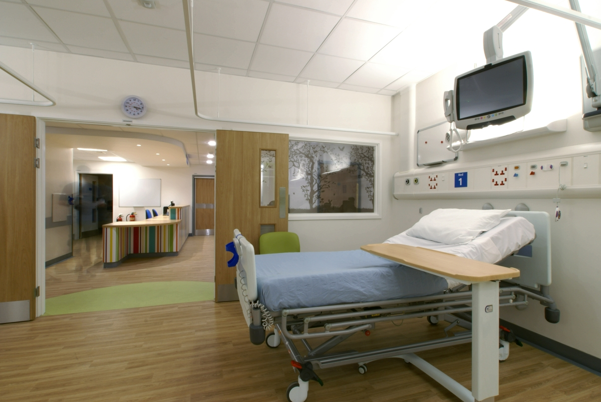 Refurbished Addenbrooke's Hospital F3 Ward