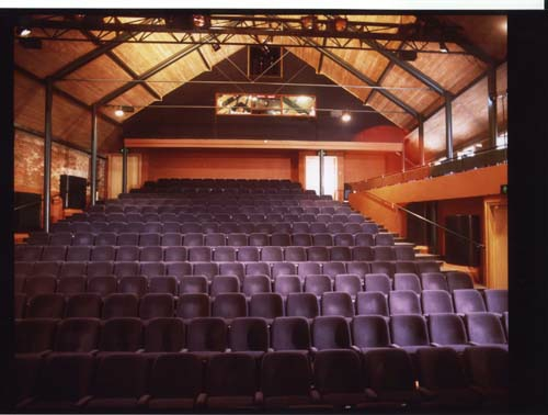 Norwich Playhouse interior, designed by Christopher Lambert, Founding Partner of LSI Architects