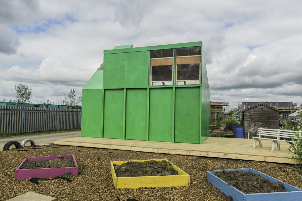 A new satellite classroom for Oakfield School, as part of the 'Made in Oakfield' project for Hull City of Culture 2017