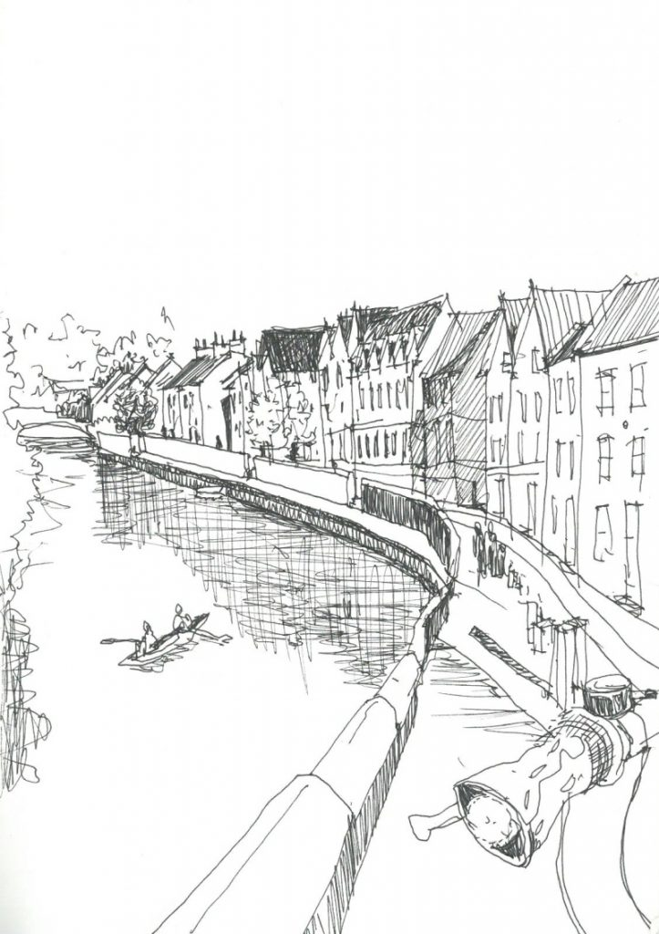 Ana Rute Costa Sketch Norwich River Wensum