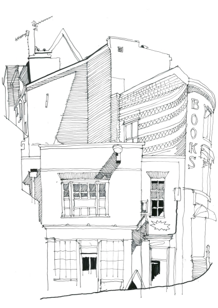 Richard Bassett Sketch Book Hive London Street