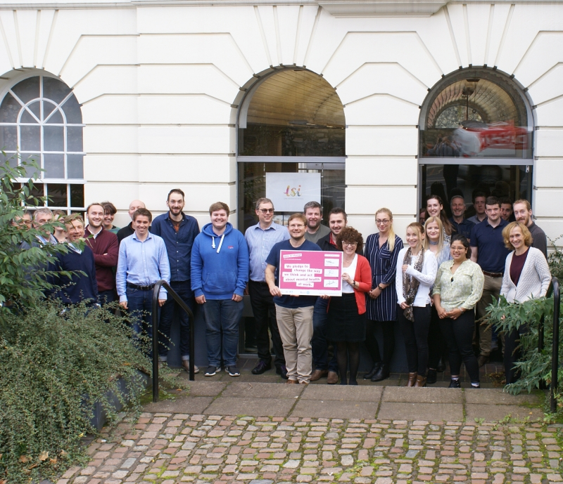 LSI Architects signs Time To Change Employer Pledge