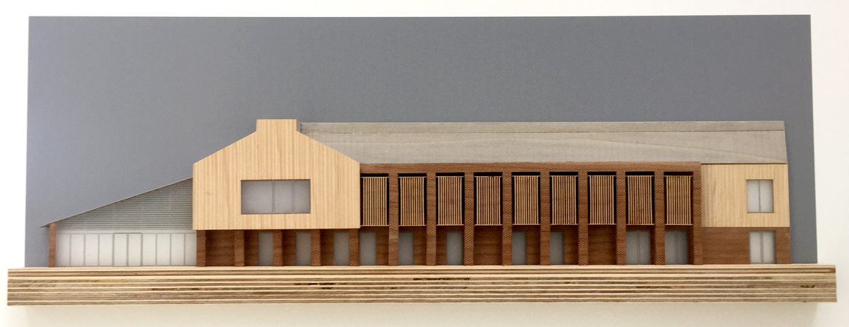 FANN17 Greshams School Britten Building Facade Model