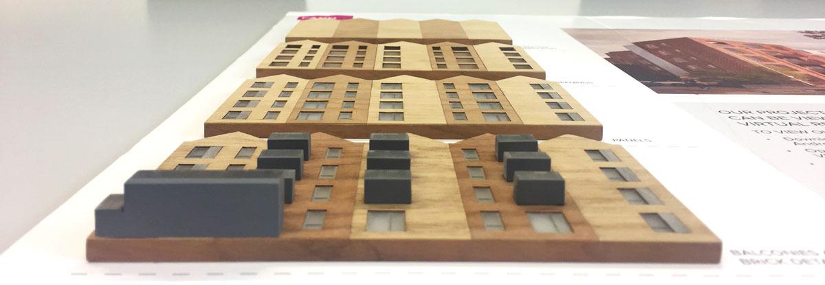 FANN17 Westwick Street Facade Model