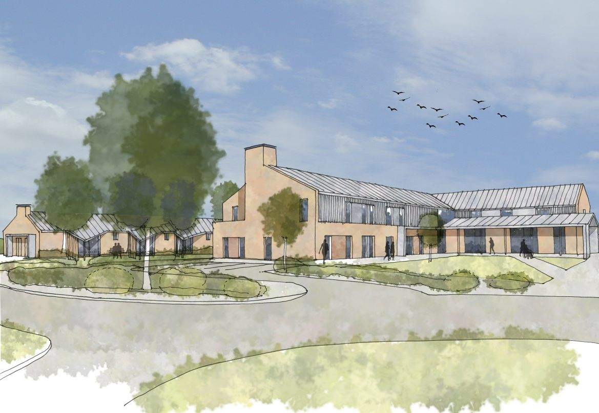 LSI Architects New Fair Havens Hospice Southend Proposals Sketch Visual
