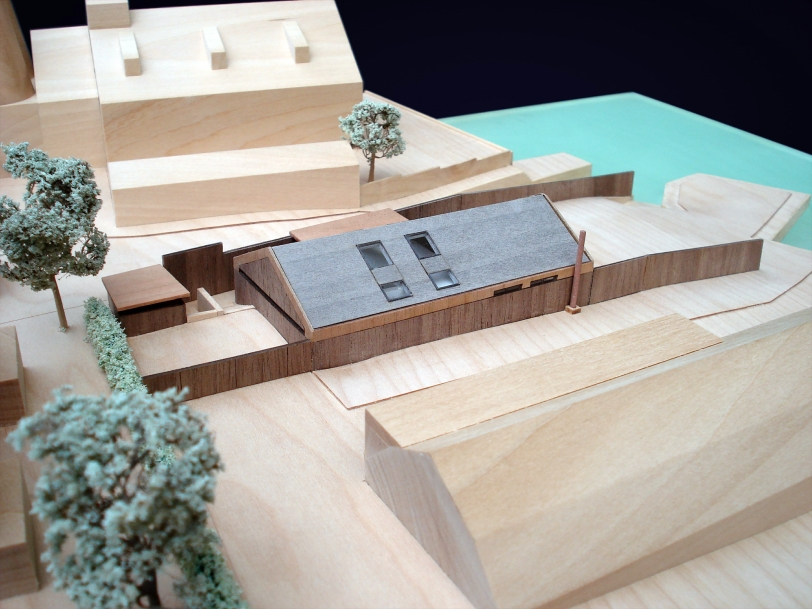 Architectural Model Trumans Yard Oulton Broad Residential Scheme