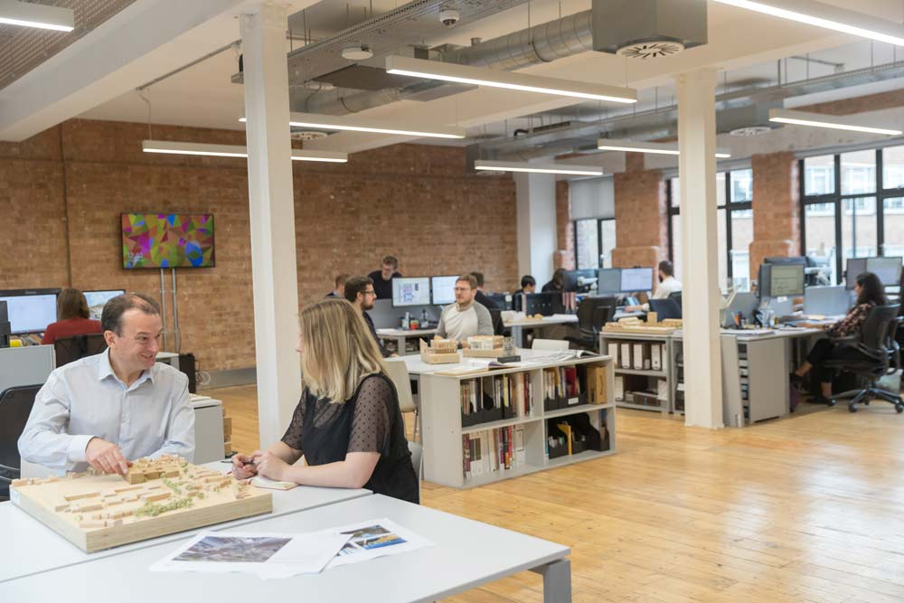 LSI Architects AJ100 Employer of the year finalist 2018 London office