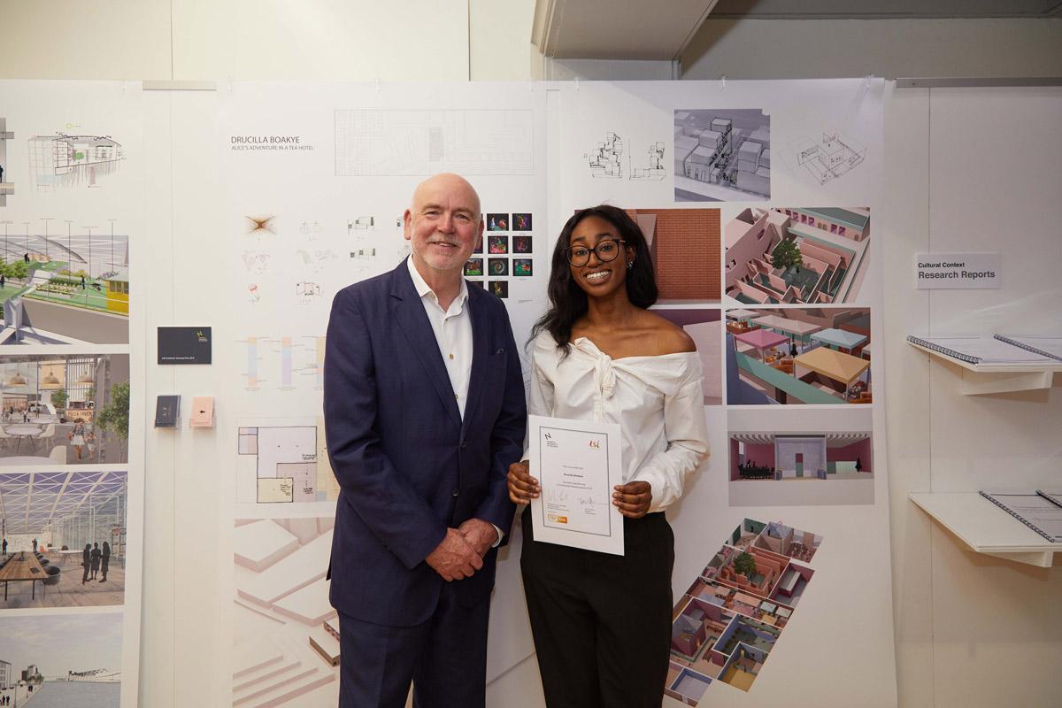 NUA LSI Drawing Award 2018 Drucilla Boakye