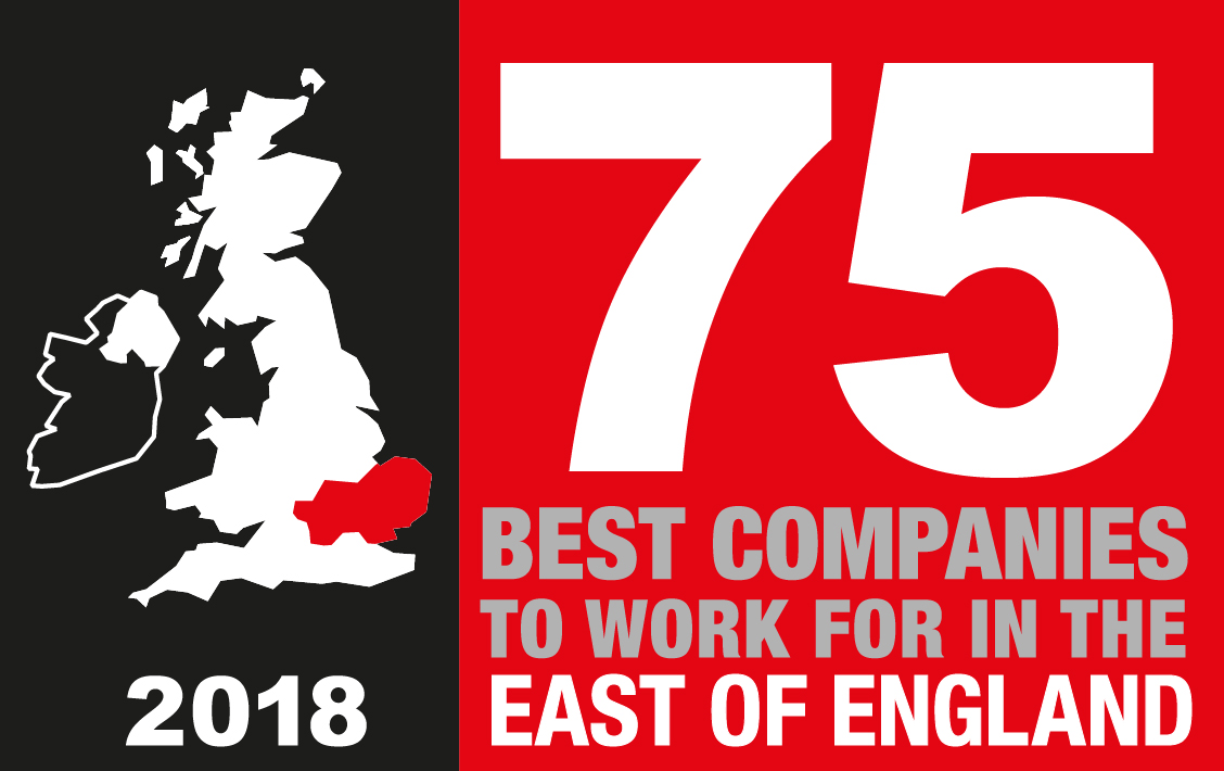 75 Best Companies In The East of England 2018