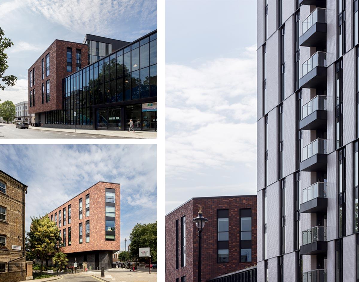 External Views of Ebury Place Development, Westminster