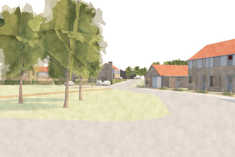 Dickleburgh Housing Masterplan Visualisation