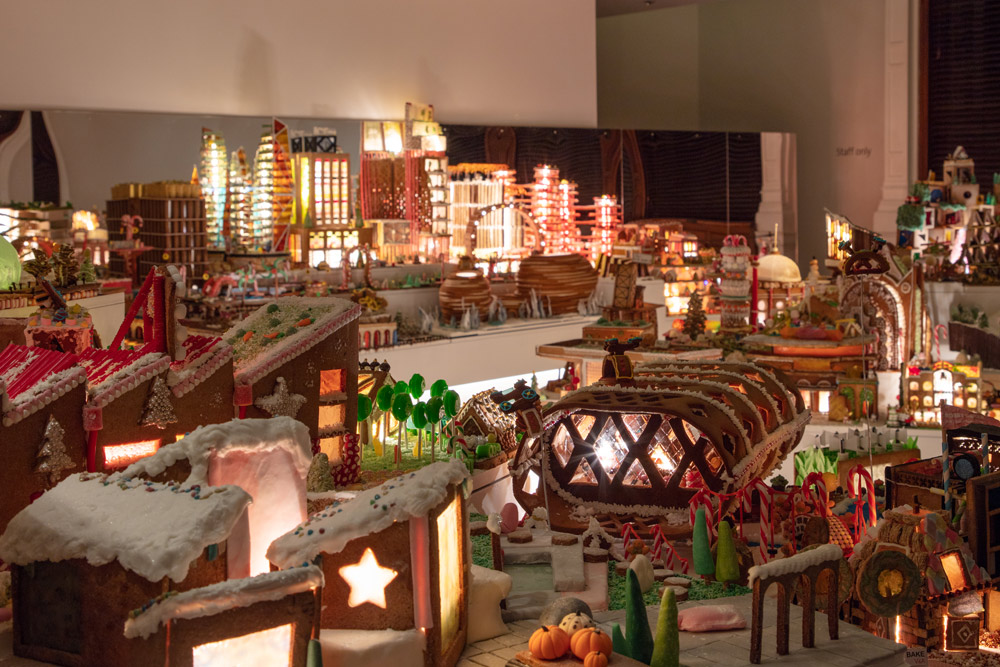 Museum of Architecture Gingerbread City Exhibition at the Victoria and Albert Museum