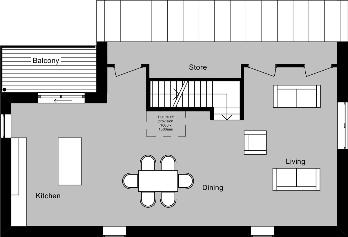 LSI Architects - Staitheway Road, First Floor Plan