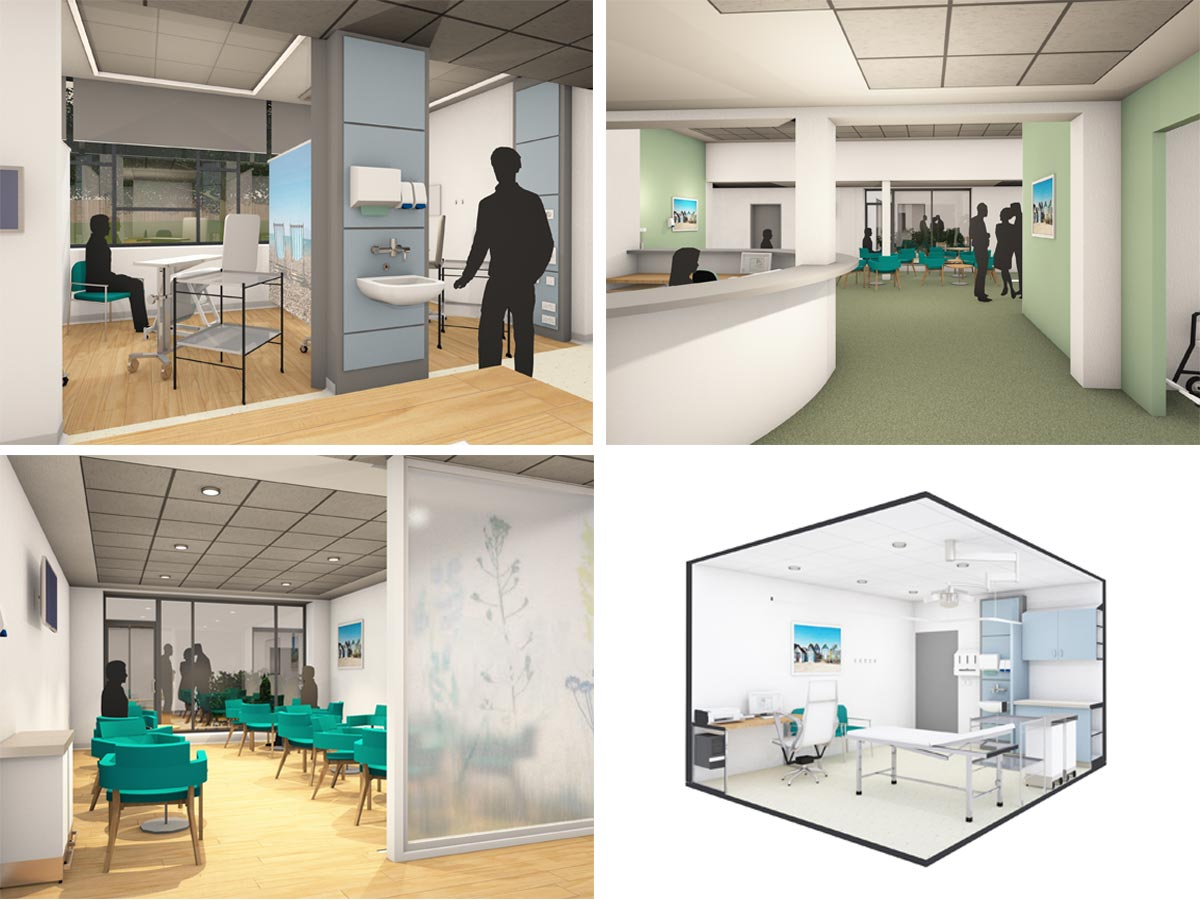 Visualisations of North Norfolk Macmillan Cancer Centre Proposals