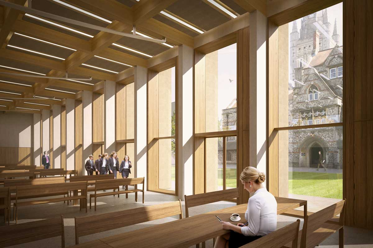 LSI-Architects-Norwich-School-New-School-Dining-Facilities