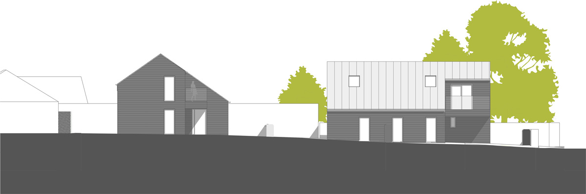 LSI Architects - Staitheway Road Proposed Site Elevation