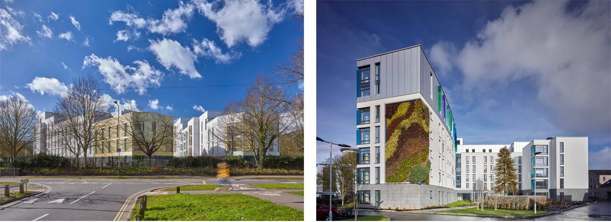 Hickling and Barton House and Crome Court Student Accommodation at UEA