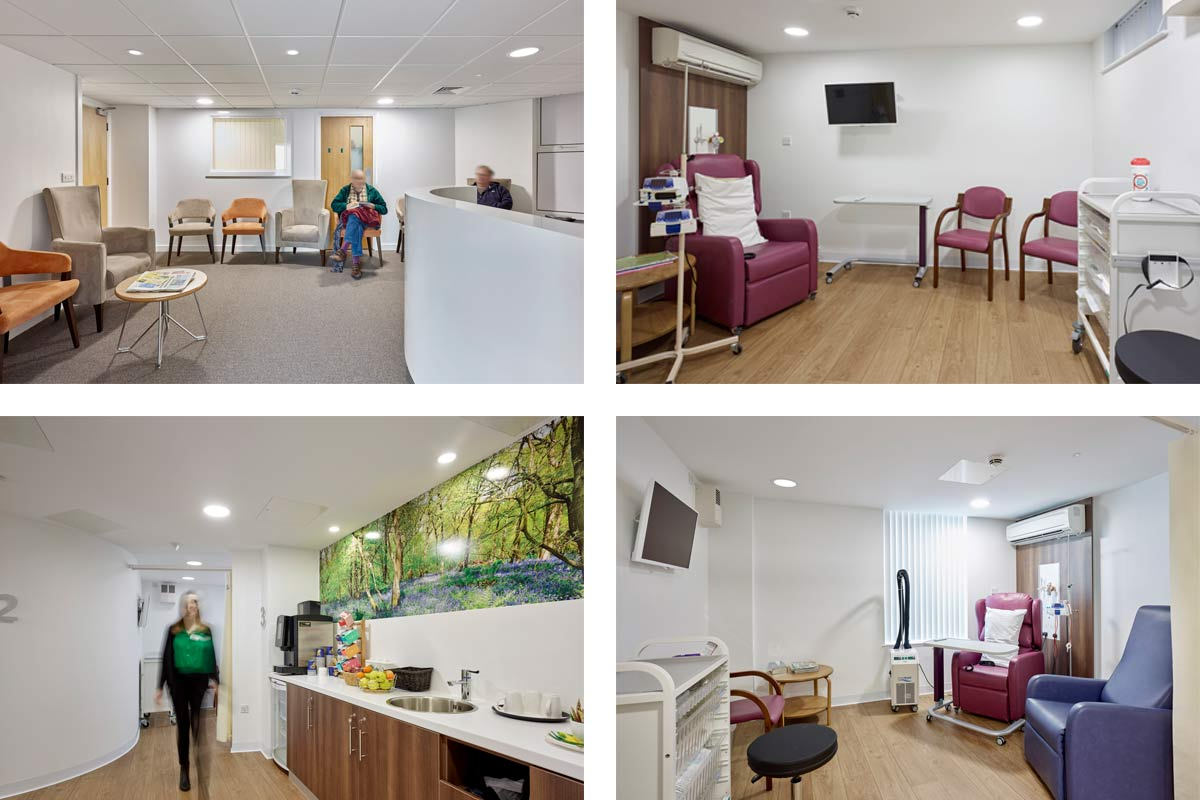 Macmillan Quality Environment Mark AccreditedKensington Cancer Centre at BMI Princess Margaret Hospital